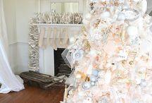 ♡CHRISTMAS WHITE ~ SILVER♡ / by JULIE 💜 CHEROKEE💖GYPSY
