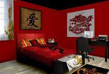 Oriental Bedroom Chinese