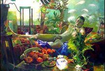 Nebojsa Zdravkovic (Serbian painter, born 1959)
