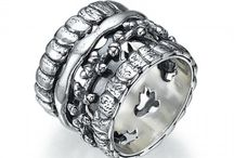 Sterling silver rings / Sterling silver rings for women, with elegant designs.