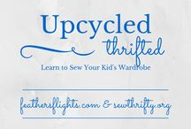 Upcycle: Learn to Sew Your Kid's Wardrobe / Lots of basic upcycling tips and tutorials so you can sew your kid's wardrobe. / by Heather Feather