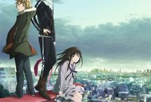Noragami (♥π♥*) / Noragami is absolutely my favourite anime of all time. I hope there will be a third season...