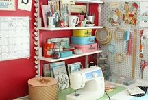 Craft-Sewing Room / by MaryKay Knight