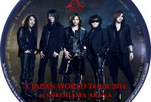 X Japan Blu-ray印刷用