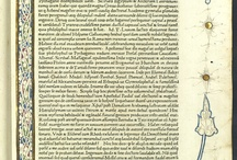 [Biblia latina] ; Aristeas ad Philocratem fratrem per Mathiam Palmeriu[m] Pisanu[m] e Greco in Latinu[m] co[n]uersus  / Es tracta d'una importantíssima edició incunable, atès que és la segona bíblia llatina amb data d'impressió, la primera impresa a Roma i la primera en què el text es presenta en tipus romans i a ratlla seguida.  L'incunable, produït al taller dels impressors alemanys Konrad Sweynheim i Arnold Pannartz, destaca també tant per la regularitat i perfecció dels tipus i de la mise en page com per la qualitat del paper. Aquesta còpia va pertànyer al convent carmelità de Sant Josep de Barcelona.