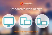 Responsive Web Design Company Chandigarh / Go beyond the traditonal boundaries of the web and explore a whole new world of Responsive Web Designs, designed to perfectly fit any browser operated device.