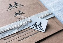 Rustic Inspired Wedding / Tipi design rustic Wedding Invitations perfect for any eco-friendly, rustic themed wedding
