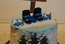 Snowboard torta