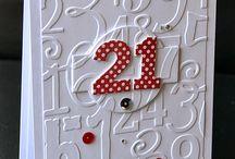 21 St Birthday Cards