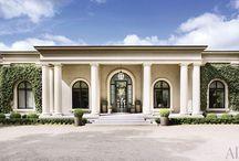 Modern Palaces, Castles / I like the idea of modern palaces, and castles-like the ones of Frank Lloyd Wright
