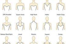 NECKLINE TYPES OF THE DRESS