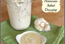 marinades, dressings, dips, etc / by cait
