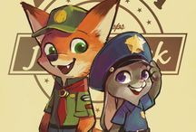 Judy and Nick (Zootopia)
