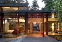 modern architect  / many designs of modern homes and detail of design