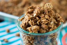 Granola crunching / Yes, I'm a granola cruncher. And proud of it.