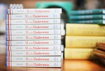 U is for Underwear / Imbuing everyday objects with a sense of wonder, Jesse's bright, bold artwork makes a perfect introduction to the alphabet for young pre-readers.