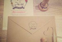 Wedding - Invitations / Bodas - Invitaciones y papelería