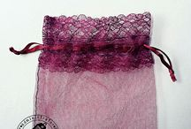 Lace Organza Gift Bags
