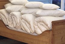 Pure Eiderdown Duvets / Eiderdown is the softest and lightest down in the world. It is extremely rare, in great demand and highly prized (accounting for its high price).  To ensure the quality of our duvets we use more eiderdown for filling than most of our competitors.