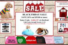 BLACK FRIDAY SPECIAL FOR DOG CLOTHING