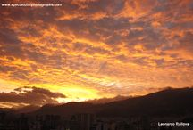 Sunset sequences 38 / Sunset sequences over the Andes, Pichincha volcano, Quito, Ecuador