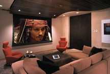 Dream Home Theatre/Library Ideas