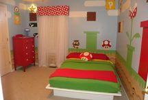 Chambre Mario Bros