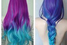 Hair inspiration / Hairstyle ideas and hair colors that I love!