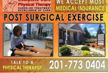 Post Surgical Exercise in NJ / Complete Care Physical Therapy specializes in post-surgical physical therapy in Bergen County, NJ. Our physical therapy practice is owned and operated by dedicated Physical Therapists who have been practicing since 1996.