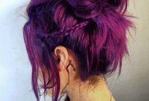 Hårfärg och frisyrer