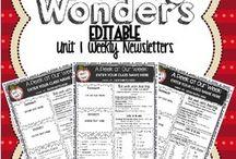 reading wonders / by Shawna Bruno