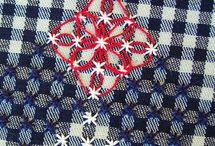 nudos de lana y algodones de colcres