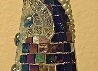glass bottle art