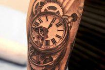 Tatuagens de relógio