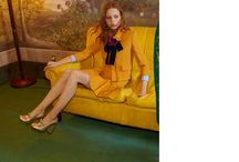 """The Gucci Cruise 2016 Campaign / """"There is a more nuanced, subtle and multidimensional romanticism in my collections, moving away from overt sexuality,"""" Alessandro Michele, Gucci creative director.  Introducing the Cruise 2016 Campaign, shot by Glen Luchford and featuring the new ready-to-wear and accessory collections.  Art director: Chris Simmonds Stylist: Jane How Hair: Paul Hanlon Makeup: Yadim Carranza / by gucci"""