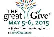 The Great Give® 2015 / #TheGreatGive 2015 is May 5th and 6th. There are over 400 #nonprofits serving Greater New Haven participating. Support your favorite local causes and help them win thousands of dollars in grants and prizes!