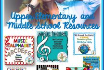 UPPER ELEMENTARY MUSIC RESOURCES