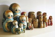 I love nesting dolls! / by Cynthia Marie