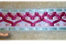 bordado en cinta