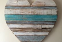 Heart in Teal / Mint / Turquoise