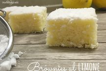 Brownie limone