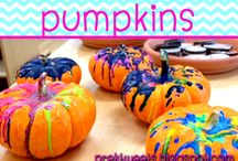 Pumpkins / Ideas and resources for pre-k and kindergarten pumpkin study.