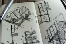 Sketches-architecture and interior