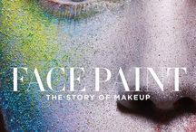 #FacePaintBook / The story of makeup. For more information click here - http://www.lisaeldridge.com/facepaint/ / by Lisa Eldridge