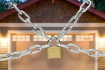 Garage Security / Did you know that a great way for robbers to get in to your home is through the garage?  Safegaurd yourself. http://www.phoenixazgaragedoorrepair.com/