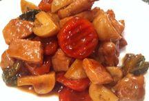 recetas china y japonesa.....