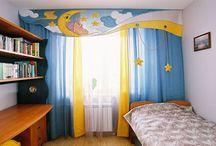 шторы детская