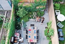 patios -back yards