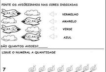 Atividades escolares / by Tatiana Martins