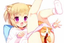 anime sexy neko girl / anime